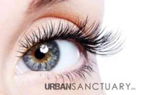 Urban Sanctuary Spa - Full Set of Couture Eyelash Extensions - Save 65%