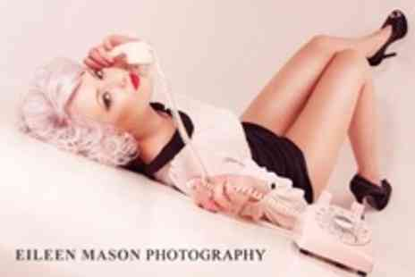 Eileen Mason - Makeover Photo Shoot and Framed Print - Save 92%