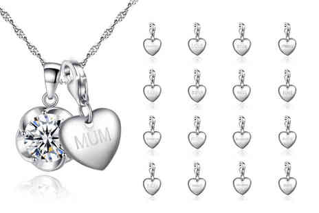 Your Ideal Gift - Personalised charm necklace made with crystals from Swarovski - Save 0%