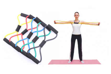 MyBluFish - 8 in 1 word rally resistance band - Save 80%