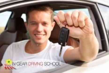 In Gear Driving School - Three Hours of Driving Tuition - Save 74%