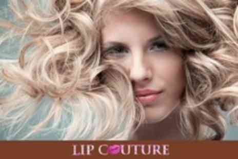Lip Couture - Restyle Cut With Director Plus Curling or Straightening Blow Dry - Save 70%