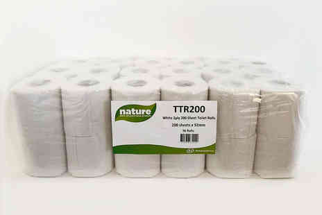 Bargains Rolls - 36 rolls of Nature Soft toilet paper - Save 0%