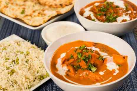 Swagatam Authentic Indian Restaurant - Two Course Indian Meal with Side for Two or Four - Save 40%