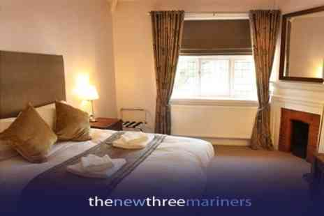 The New Three Mariners - One Night Stay For Two With Breakfast and Bottle of Wine For Two - Save 64%