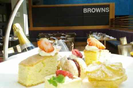 Browns at The Mere Resort - Afternoon Tea with Optional Prosecco or Champagne for Two or Four - Save 32%