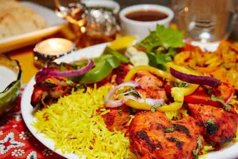 Bombay Spice - Two Course Indian Meal with Sides for Two or Four - Save 58%