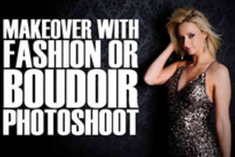 The Studio - Strike a pose off a makeover and fashion or boudoir photoshoot - Save 92%