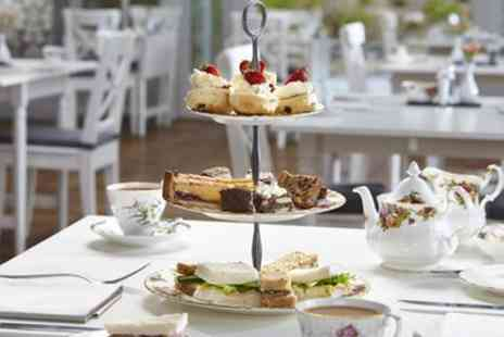 Broadoaks Country House - Sweet and Savoury Afternoon Tea with Bubbly for Two or Four - Save 31%