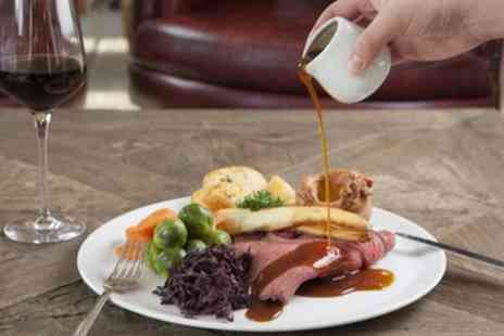 Copthorne Hotel Newcastle - Two Course Sunday Roast with Wine for Two or Four - Save 54%