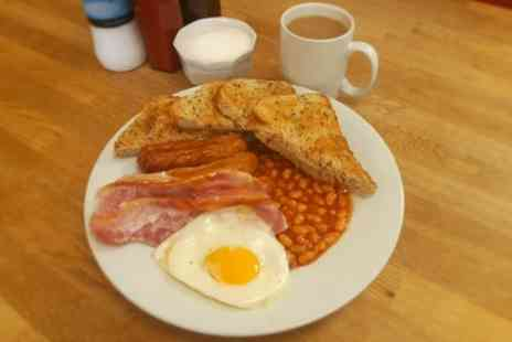 South Warnborough Village Shop Cafe - English Breakfast with Tea or Coffee for Two or Four - Save 32%