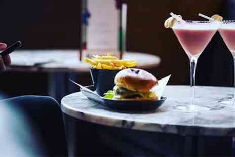 OHM Sheffield - Burger Meal with Cocktail for Up to Four - Save 49%