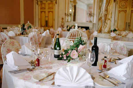 Court Colman Manor - Wedding package for 50 day guests and 80 evening guests - Save 65%
