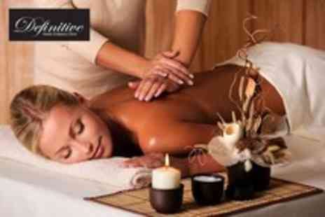 Definitive Health & Beauty - 1Hr full body therapeutic massage including consultation - Save 60%
