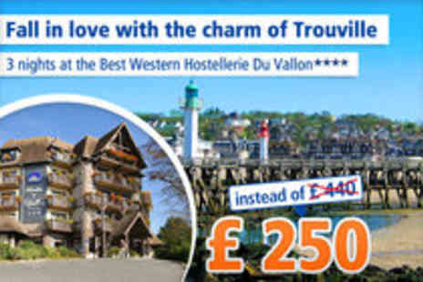 Best Western - 4 Day Getaway in stunning Normandy - Save 43%