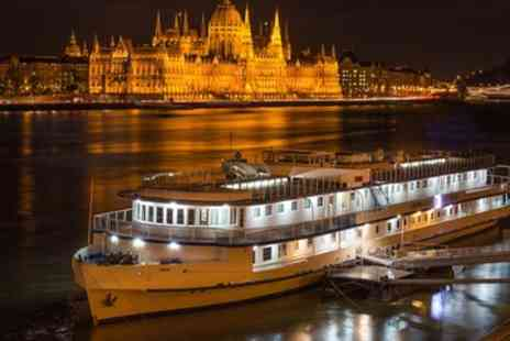 Budapest Break with Flights - 2 To 4 Nights at Grand Hotel Jules Boat with Spa Entry and Flights - Save 0%