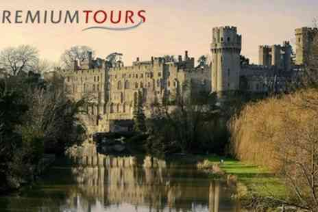Premium Tours - Warwick Castle, Stratford, Oxford and the Cotswolds Tour for Child or Adult - Save 49%