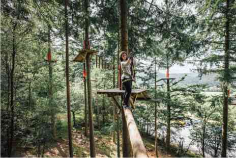 Virgin Experience Days - Forest Zip Safari at Zip World for Two - Save 0%