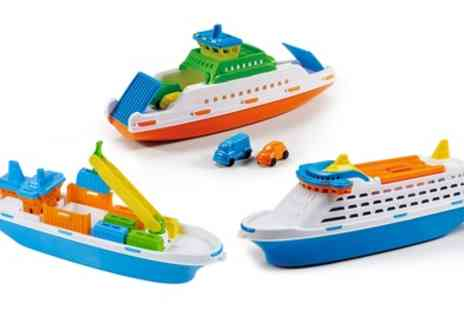 Groupon Good - Kids Floating Toy Boat with Wheels - Save 50%