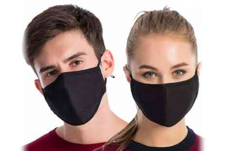 PinkPree - Pack of mask filters amd one black cotton face mask - Save 0%