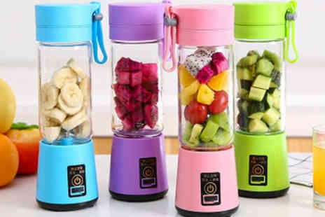 PinkPree - Four blade portable blender choose from four colours - Save 0%