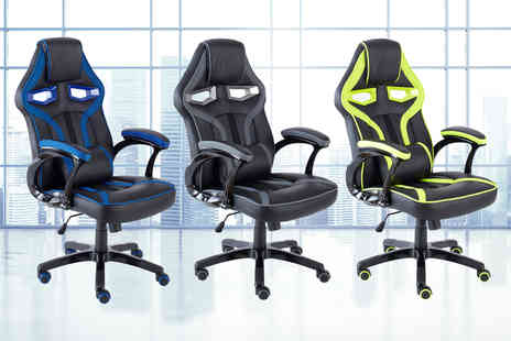 Home Empire - Executive office computer and gaming chair choose from five colours - Save 47%