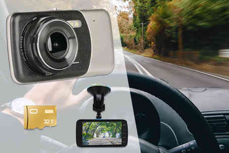 Direct Sourcing Project - HD front and rear dashcam front and 32GB memory card - Save 80%