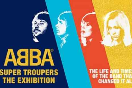 The O2 - Tickets to see ABBA Super Troupers The Exhibition - Save 0%