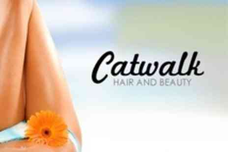 Catwalk Laser and Beauty Clinic - IPL Hair Removal Six Sessions on Areas Such as Full Legs, Brazilian, and Underarms - Save 23%