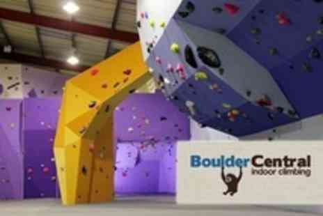 Boulder Central - Climbing Day Pass For One Plus Induction Lesson - Save 63%