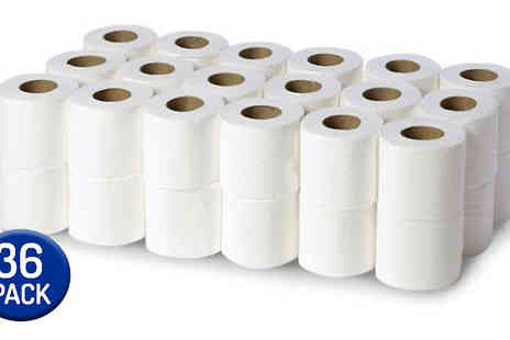 Hirix International - 36 Pack of 2 Ply Toilet Roll - Save 0%