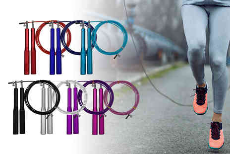 Domo Secret - Steel wire skipping rope - Save 73%