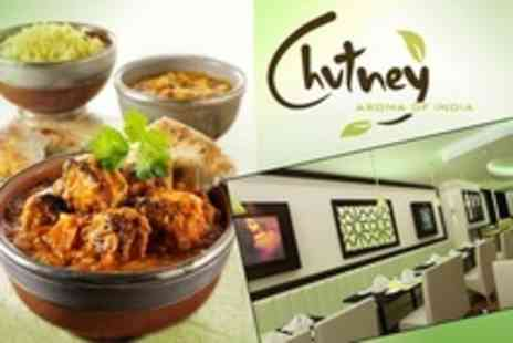 Chutney - Indian Restaurant: £10 for £20 Worth of Food - Save 50%