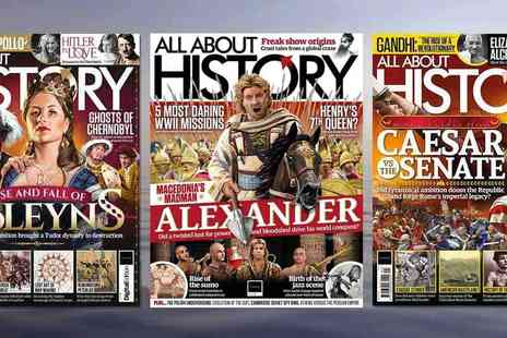 Future Publishing - All About History Magazine Subscription - Save 50%