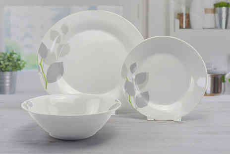Direct Sourcing Project - 12 piece Briony dinner plate set - Save 0%