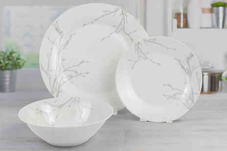 Direct Sourcing Project - 12 piece solistice dinner plate set - Save 0%