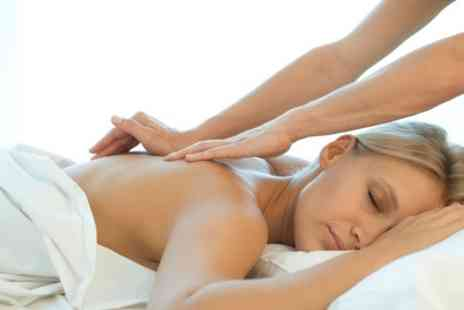 Healing Power - Back, Neck and Shoulder Massage with Optional Facial or Swedish Massage - Save 25%