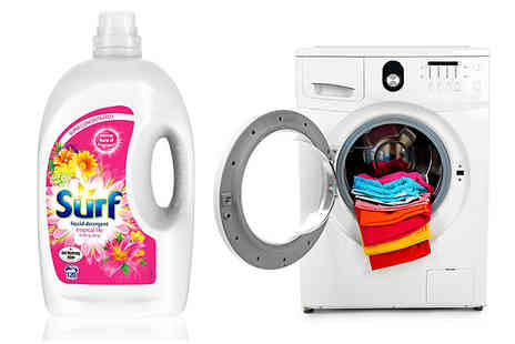 Ebeez - Surf Tropical Liquid Detergent 120 Washes - Save 31%
