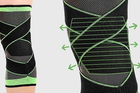 SecretStorz - 1 or 2 Pack of Breathable Knee Brace Support Choose from 3 Sizes - Save 55%