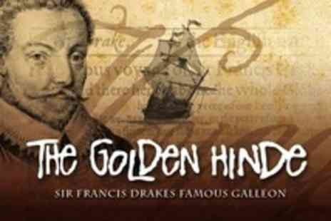 The Golden Hinde - Rum Punch Reception and Caribbean Buffet For Two With Live Entertainment - Save 27%