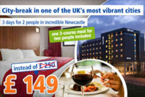 Ramada Encore - 2 Nights for 2 People in vibrant Newcastle - Save 40%