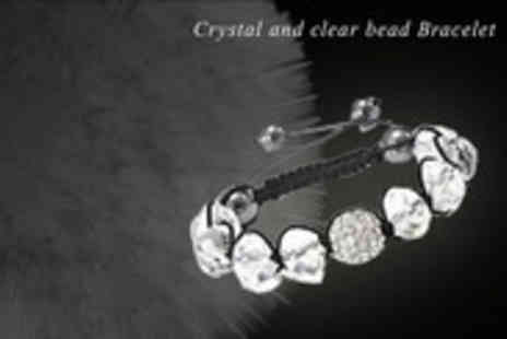 Antwerp Jewels - Stunning Swarovski Elements Crystal and Clear Bead Bracelet - Save 92%