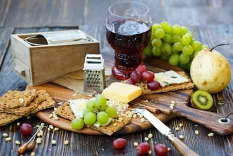 The Honey Pot Tea Room - Cheeseboard Night with Wine and Beer for Two or Four - Save 32%