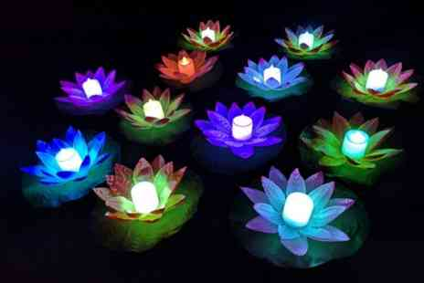 Forever Cosmetics - LED floating lily pad ligh - Save 90%