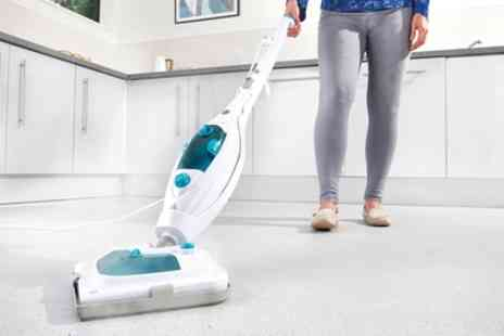 Groupon Goods Global GmbH - Easy Steam 10 in 1 Steam Mop with Optional Extra Pads - Save 0%
