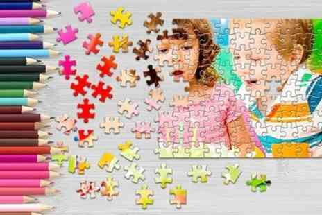 Printerpix - Personalised Jigsaw Puzzle in Choice of Size - Save 50%