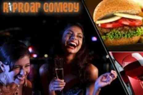 Riproar Comedy - Riproar Comedy Club Entry Plus Meal For One - Save 55%