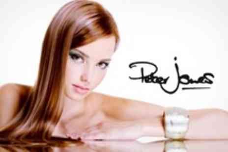 Peter Jones Hair Design - Half Head Highlights or Full Head Colour With Cut and Finish - Save 71%