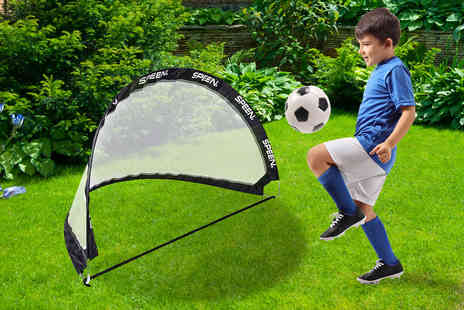 Cufflinks Gift Hub - Pop up football goal cage - Save 50%