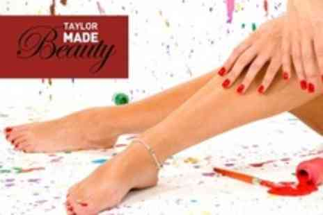 Taylor Made Beauty - Classic Manicure and Pedicure - Save 62%